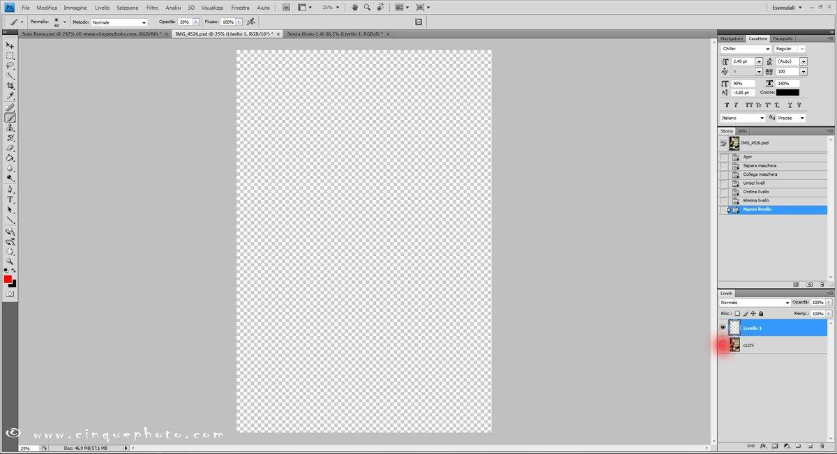 Passo 4: Aggiungere o rimuovere vignettatura alle foto