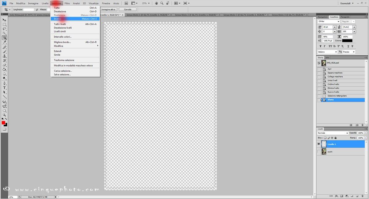 Passo 7: Aggiungere o rimuovere vignettatura alle foto