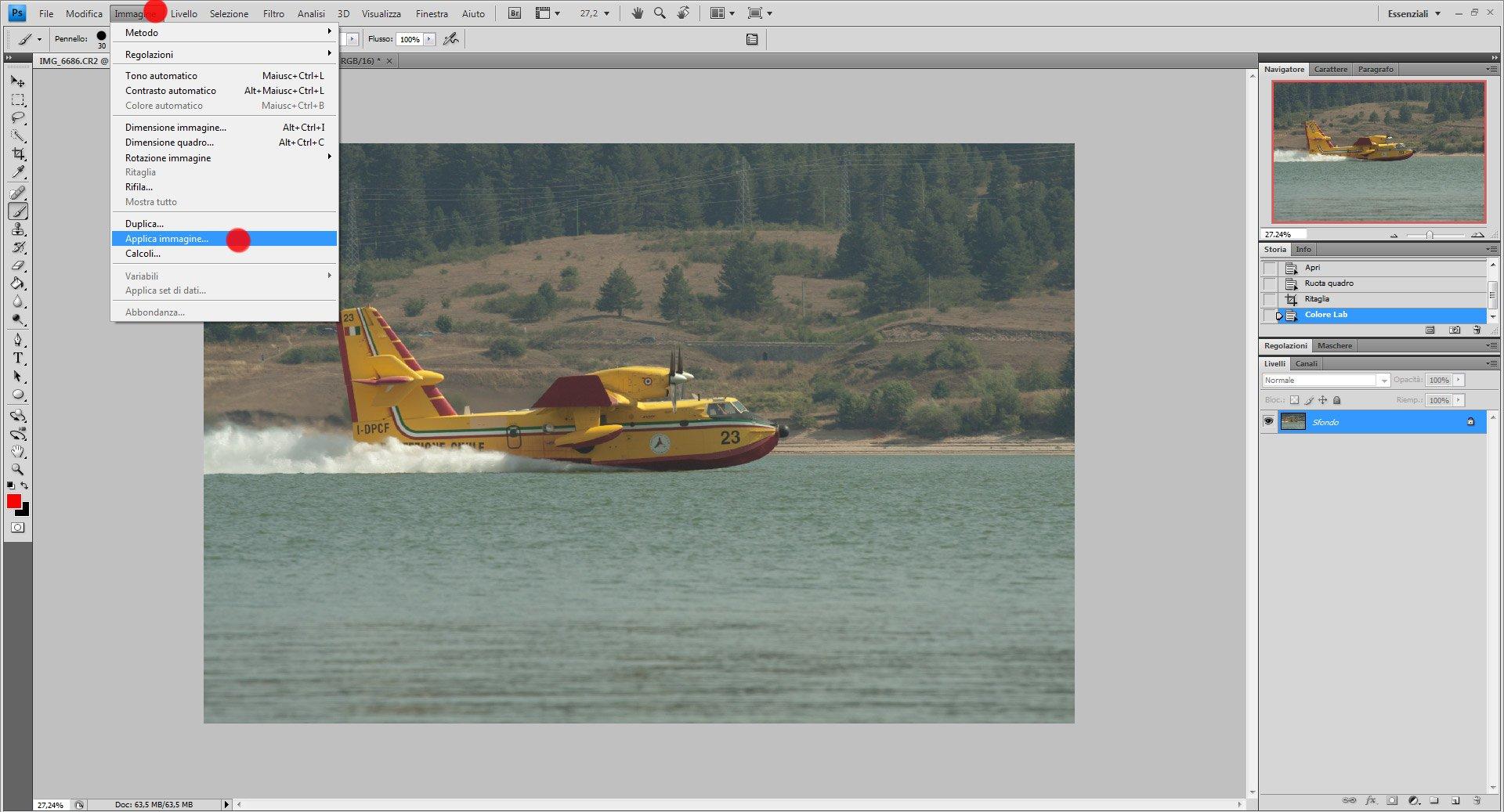 Passo 2: come usare Color Lab in Photoshop