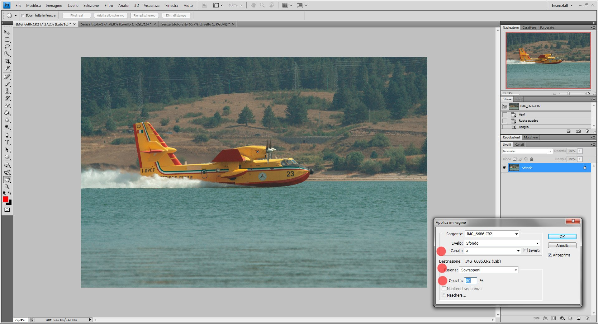 Passo 3: come usare Color Lab in Photoshop