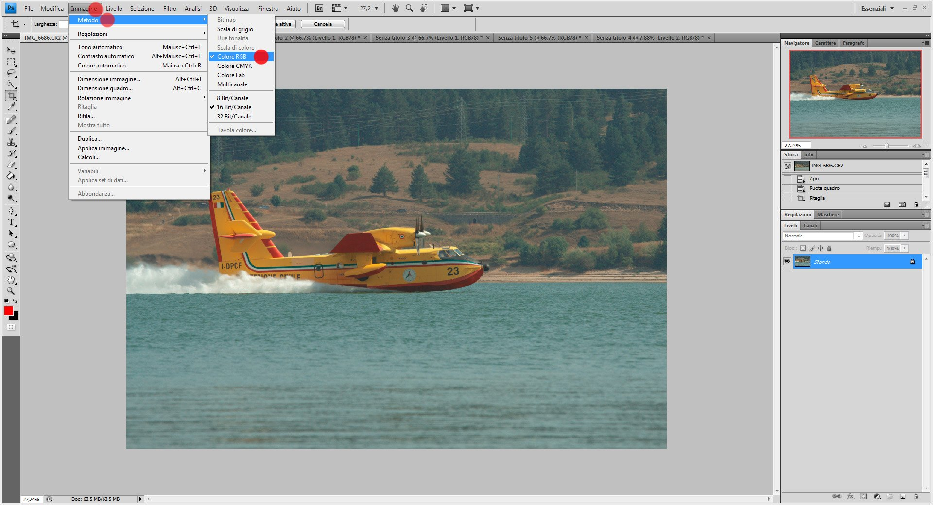 Passo 4: come usare Color Lab in Photoshop