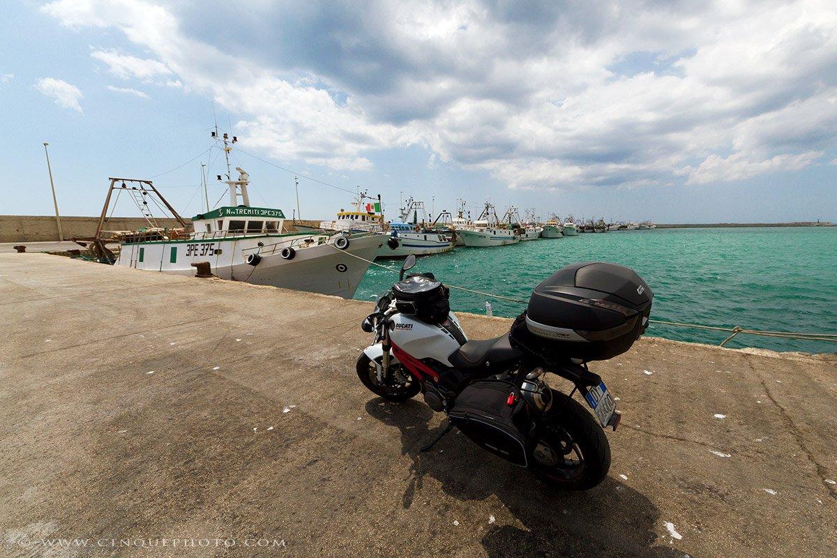 Viaggio in moto in Italia, in solitaria con Ducati
