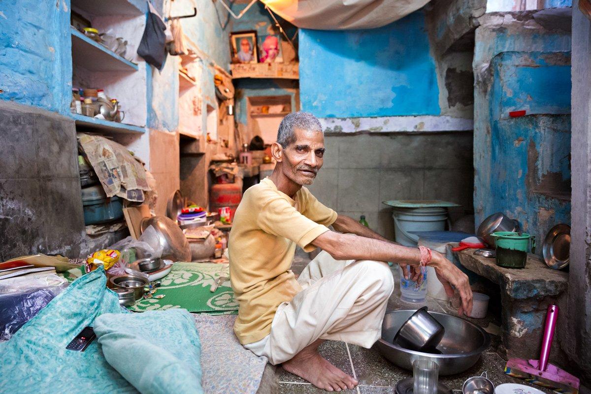 Jodhpur, Rajasthan interno casa