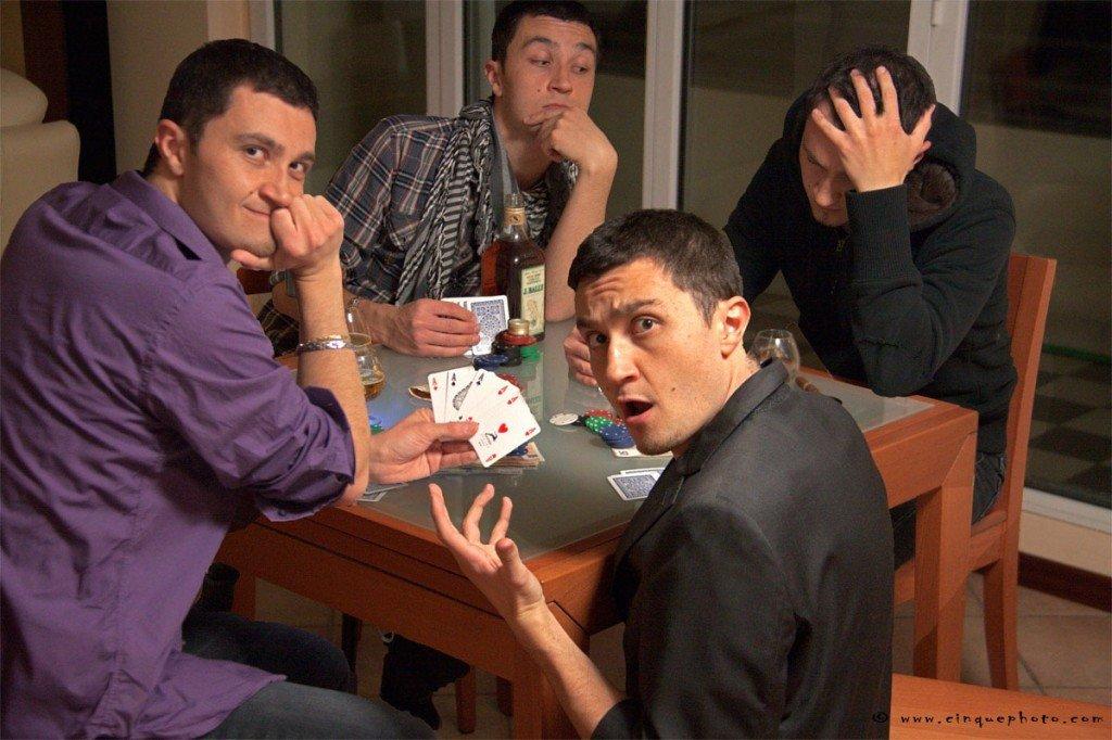 Il baro e la partita di poker
