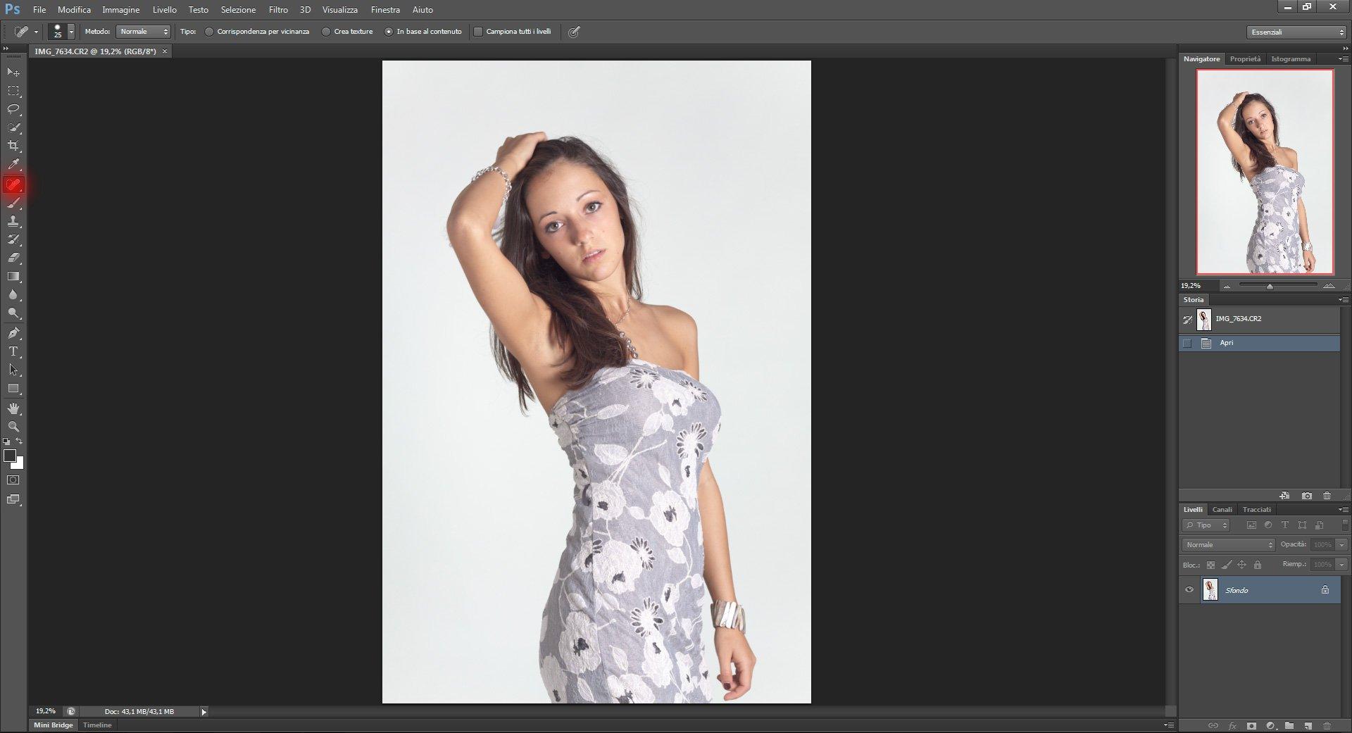 Passo 1: Tecniche di Ritocco Viso con Photoshop per fotografia Beauty