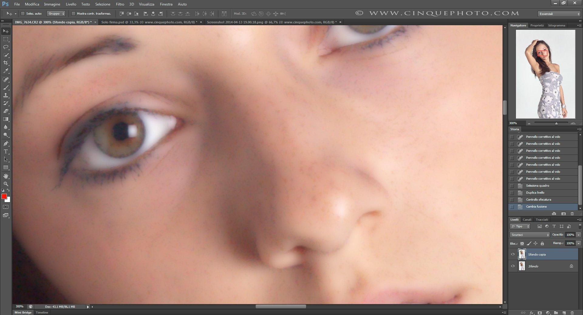 Passo 4: Tecniche di Ritocco Viso con Photoshop per fotografia Beauty