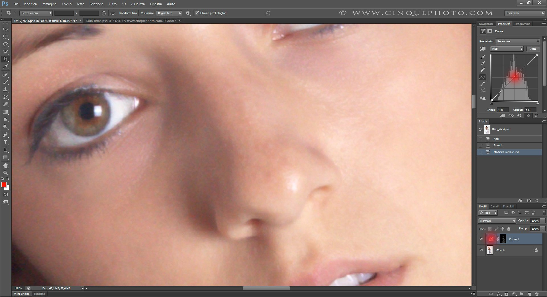 Passo 5: Tecniche di Ritocco Viso con Photoshop per fotografia Beauty