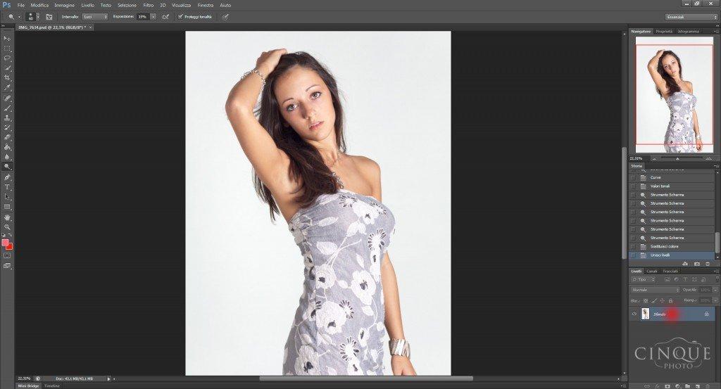 Tecniche di ritocco viso per fotografia beauty