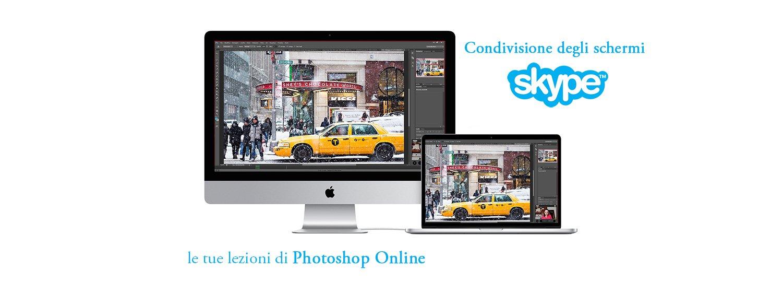 Impartisco lezioni di Photoshop Online
