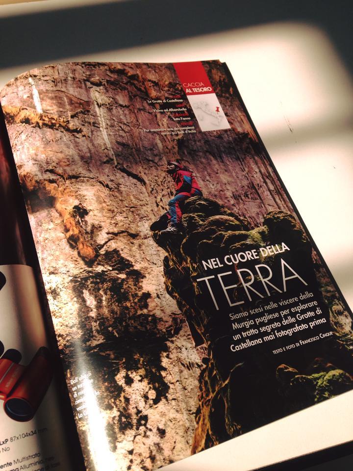 Pubblicazione Grotte di Castellana su La Rivista della Natura Edinat