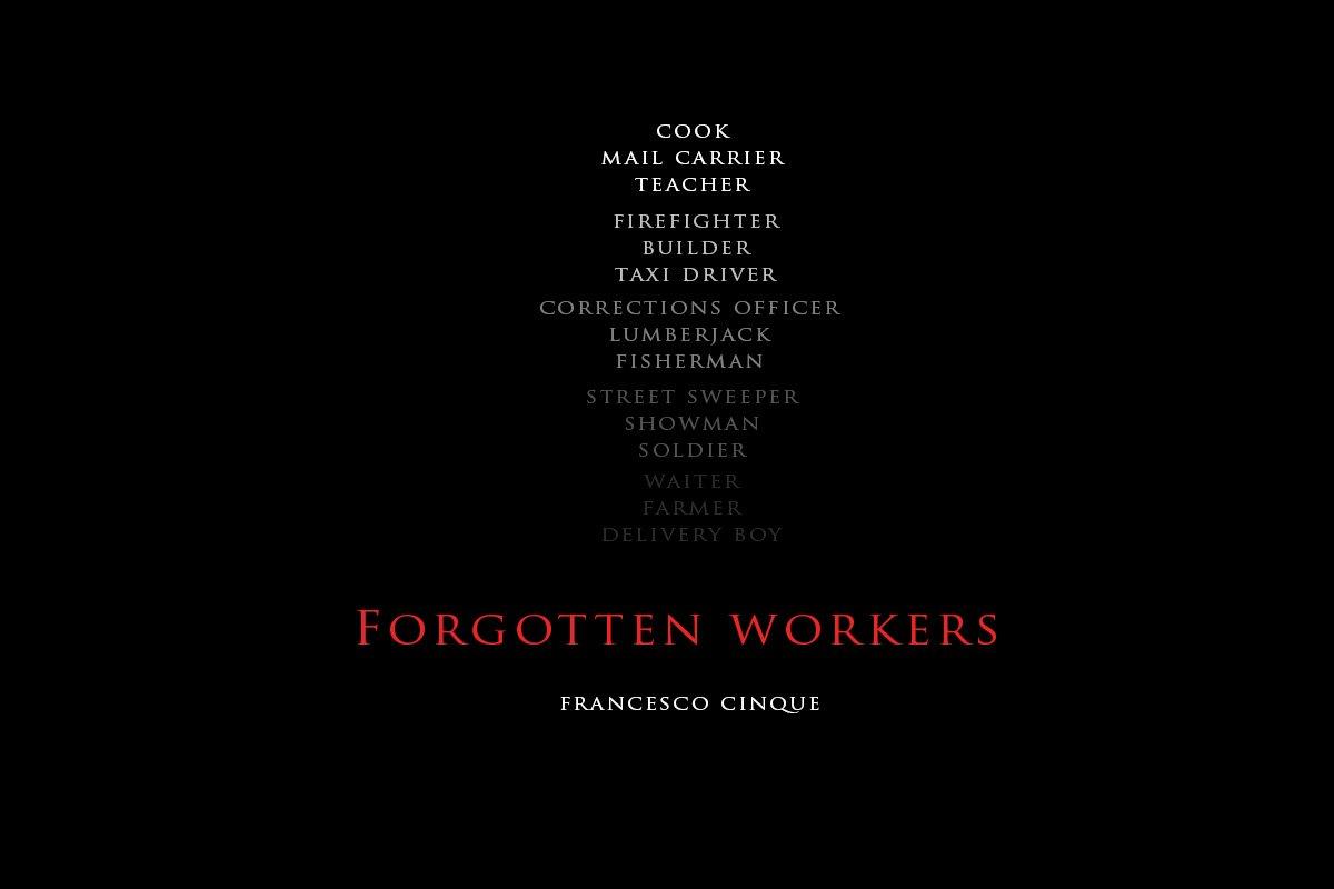 Copertina reportage Forgotten Workers