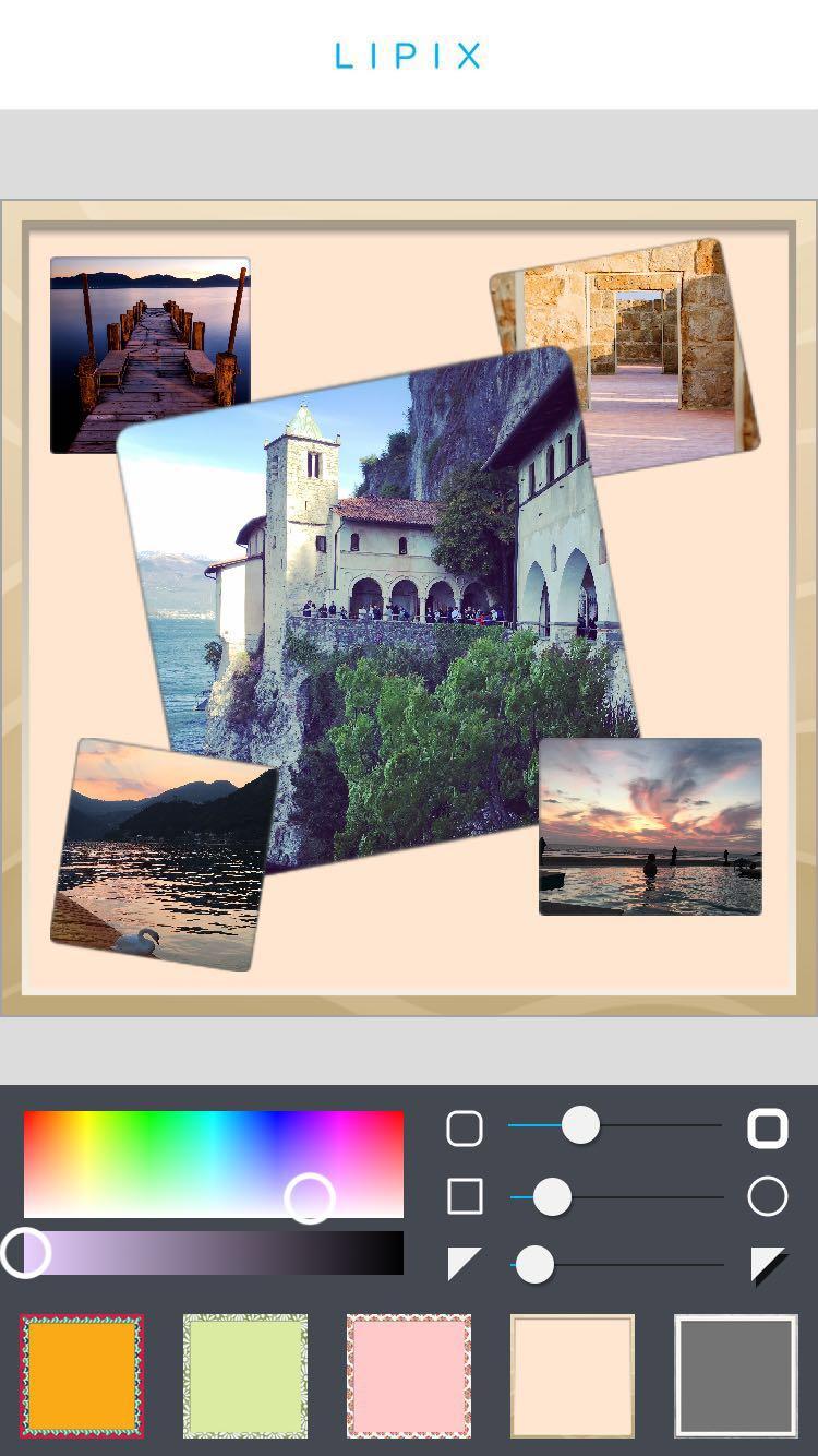 App per modificare le foto: LiPix