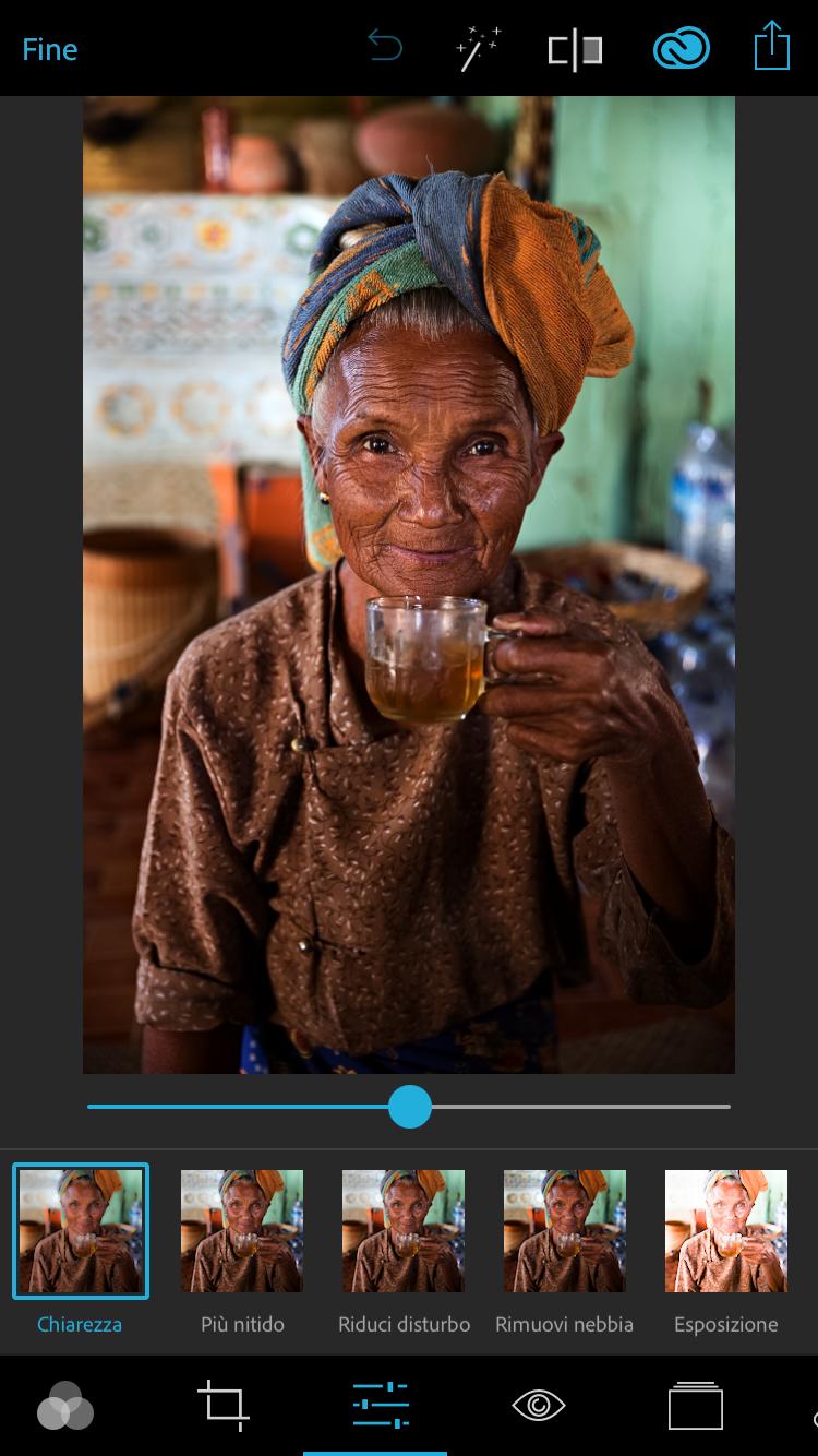 Photoshop Express: Migliore app per modificare le foto