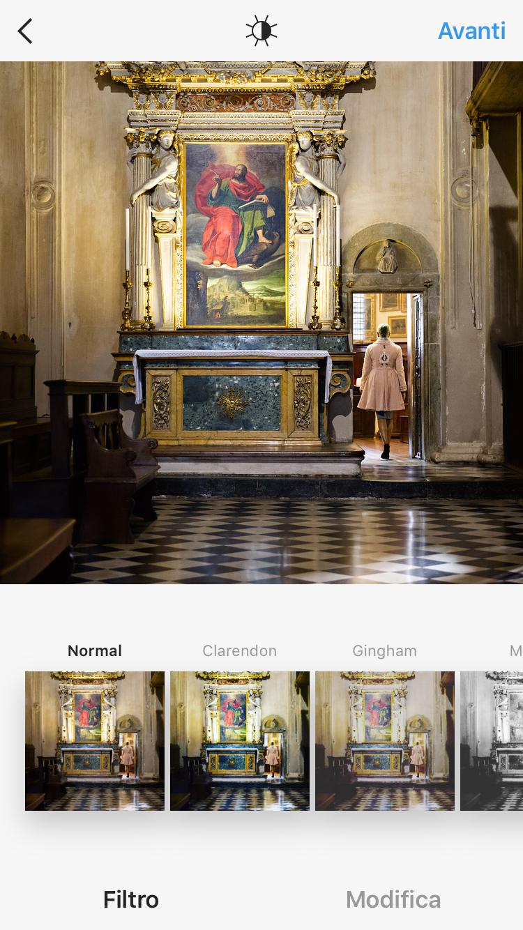 App per modificare le foto: Instagram