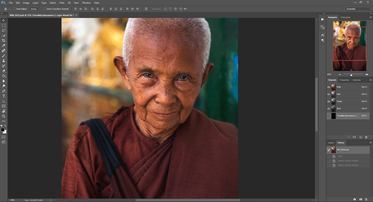 Passo 1: Ravvivare gli occhi con Photoshop