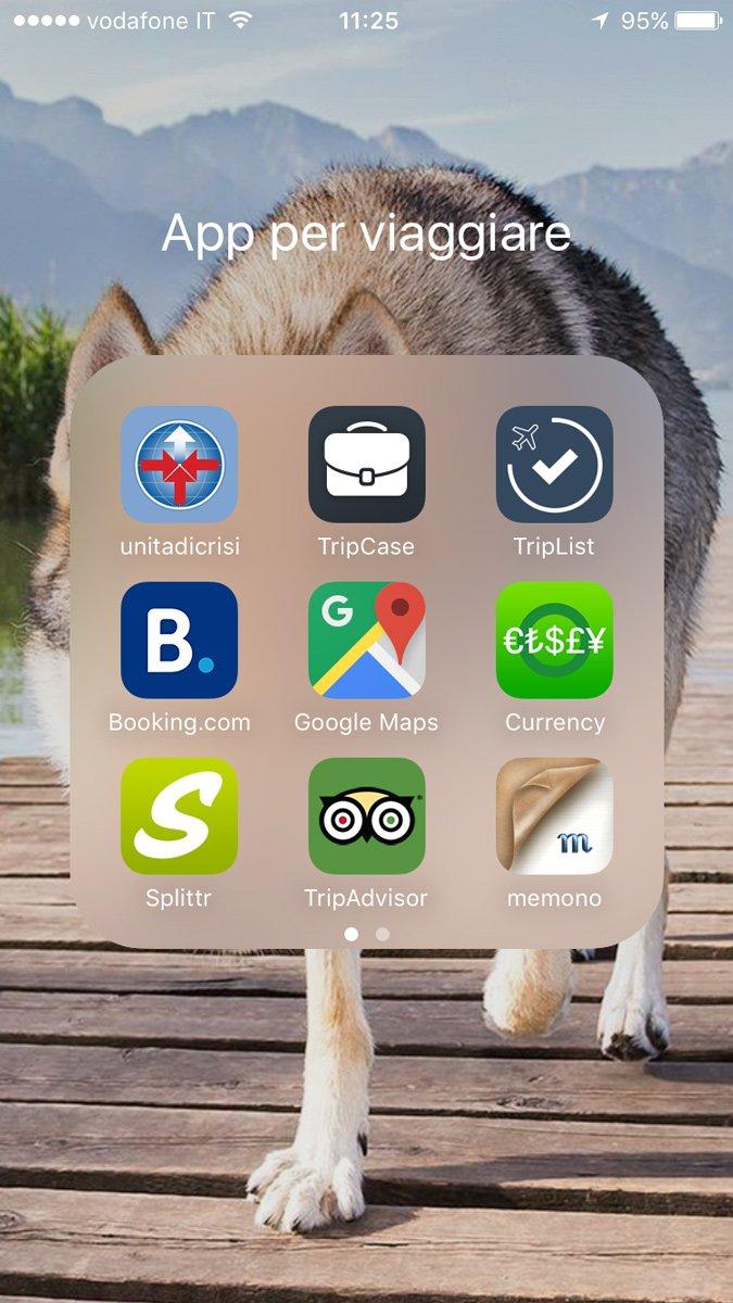 Le app per viaggiare più utili e di cui non potrete fare a meno durante il vostro viaggio!