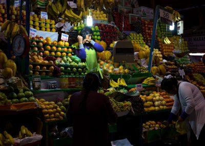La mercante di frutta
