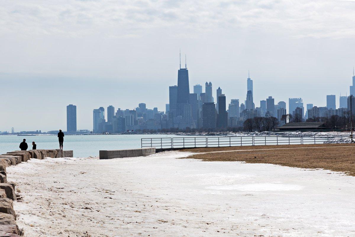 Lo Skyline di Chicago, Illinois
