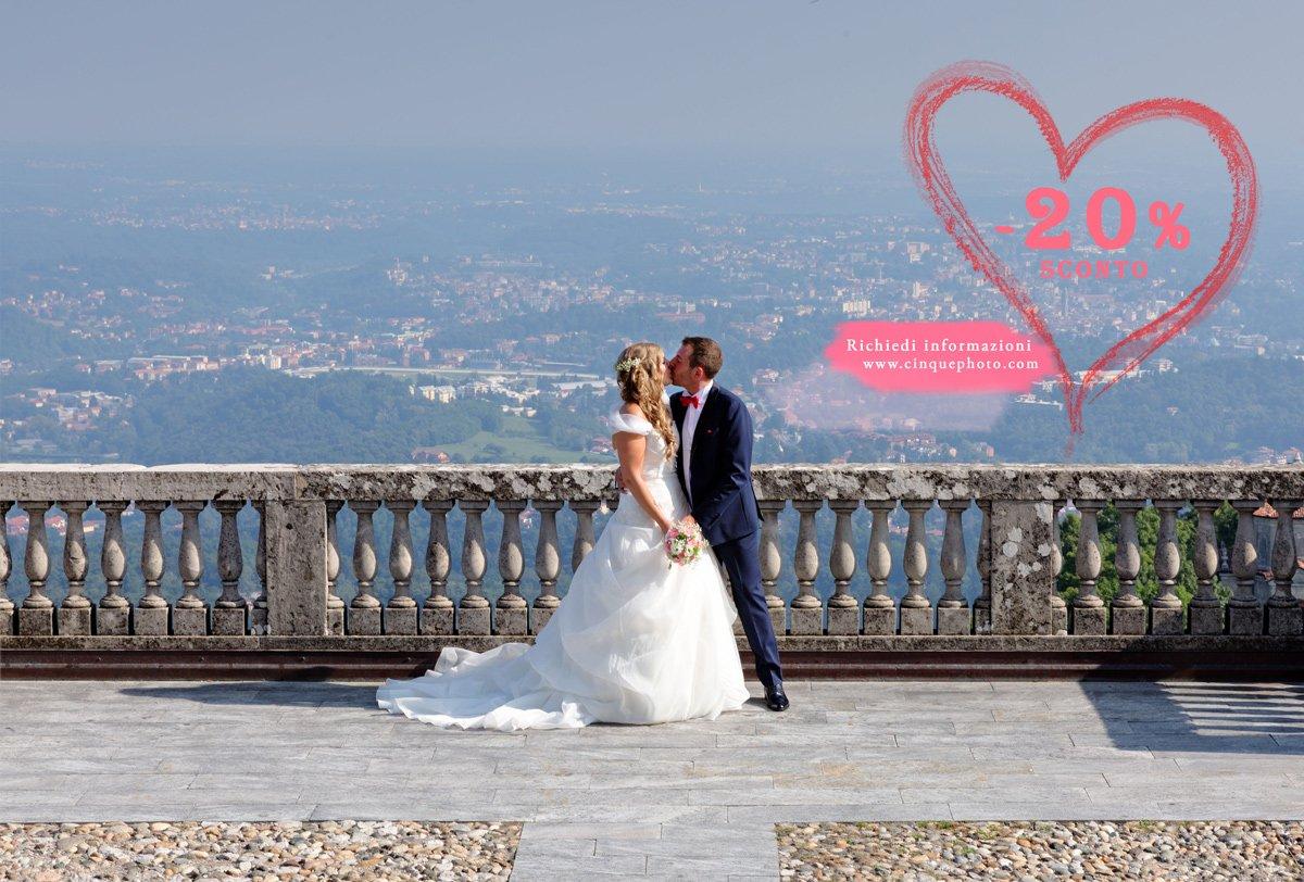Super promozione: -20% su tutti i matrimoni (leggi i dettagli promozionali)