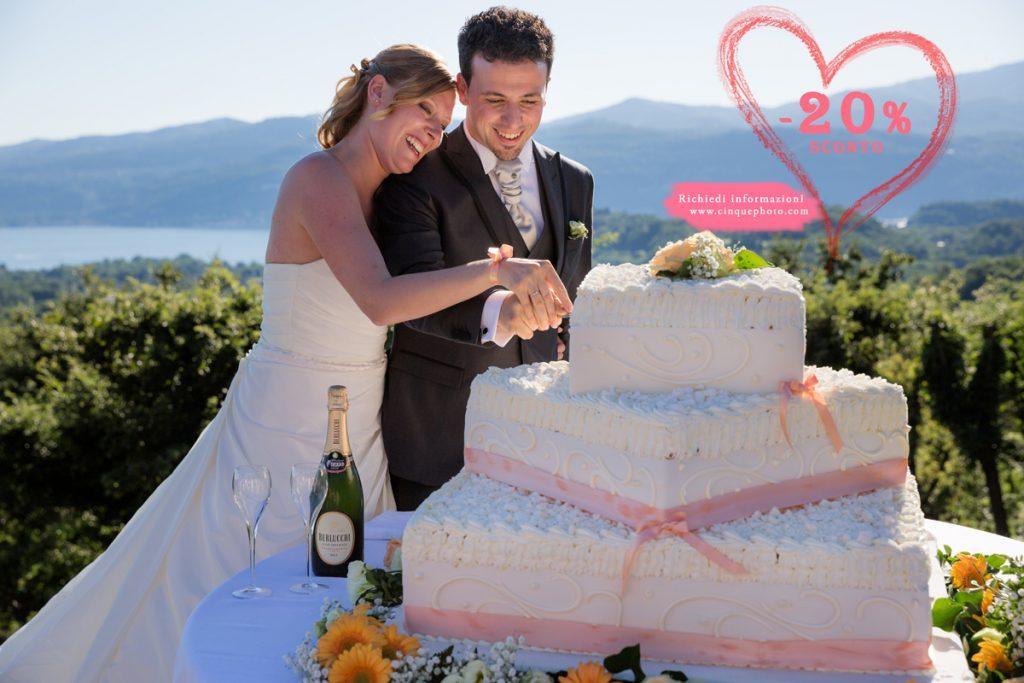 Sconto del -20% per matrimoni a Rescaldina e Rescalda