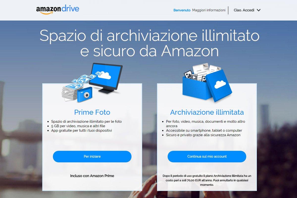 Le soluzioni proposte da Amazon
