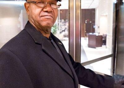 Chicago ritratto uomo hotel