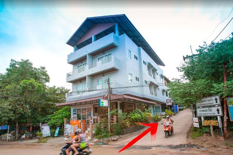 Noleggio Scooter a Koh Tao