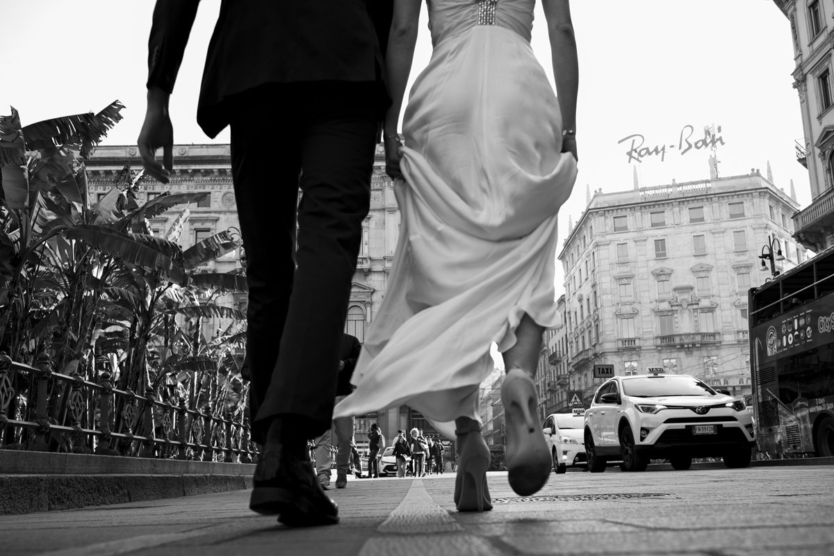 Milano Street Wedding Matrimonio