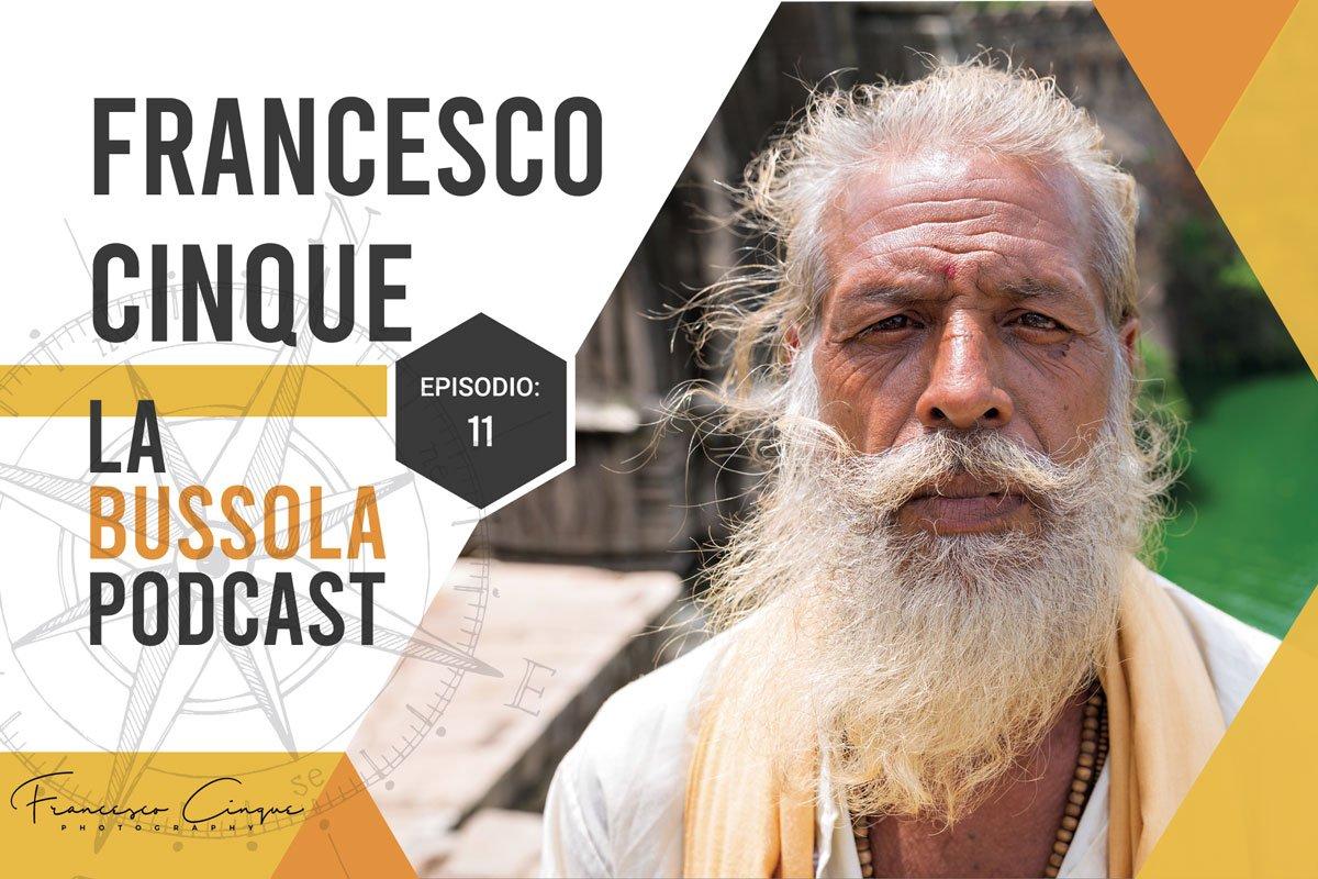 Ritratto Uomo Anziano Indiano Santone