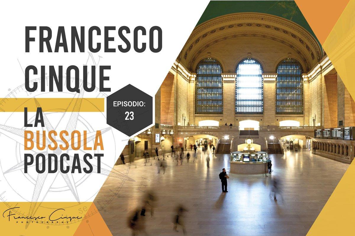 Viaggiare da soli podcast viaggio bussola new york