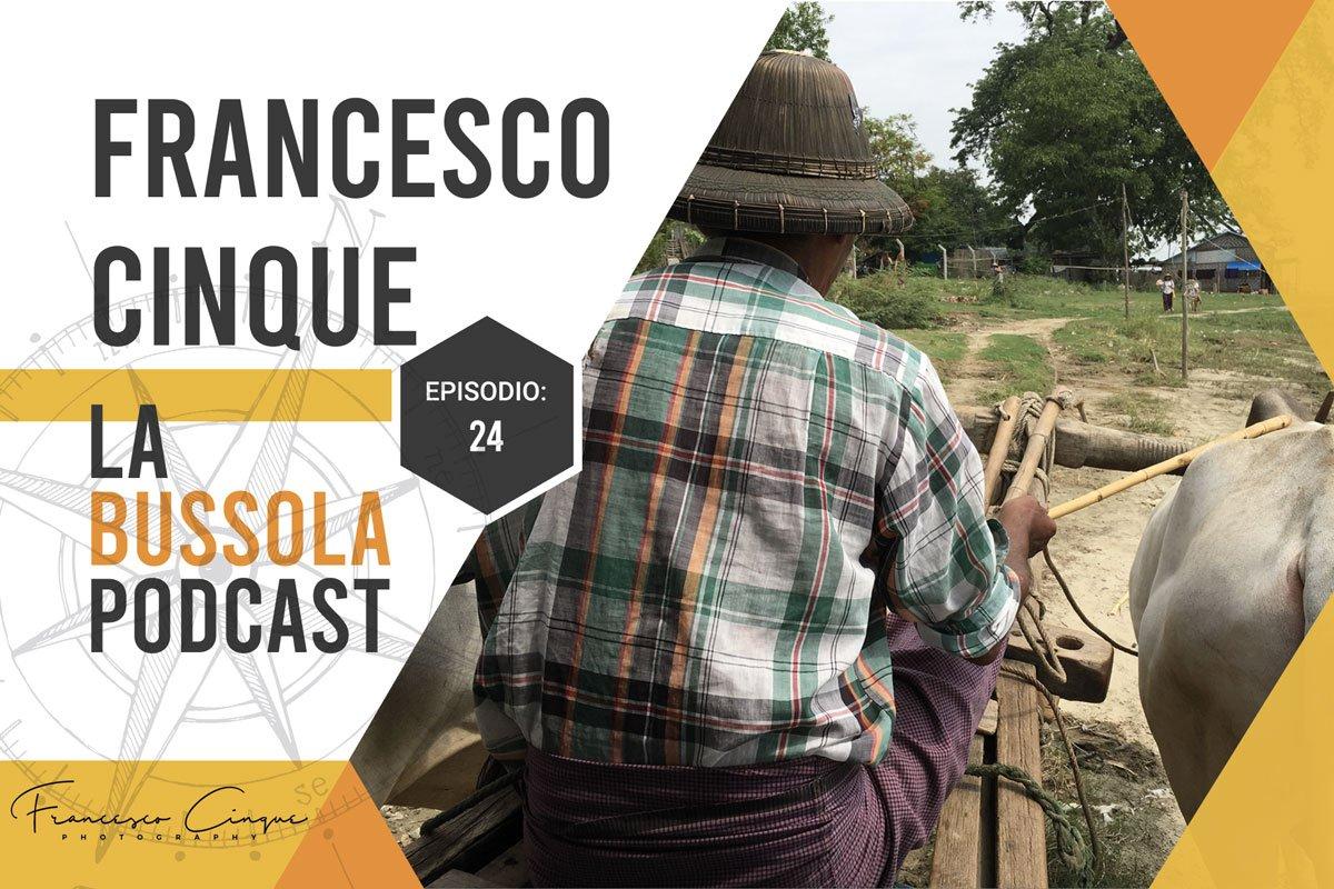 Podcast viaggio bussola francesco cinque driver viaggio